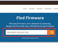 Cara Download Firmware Samsung Galaxy S6 SM-G920F