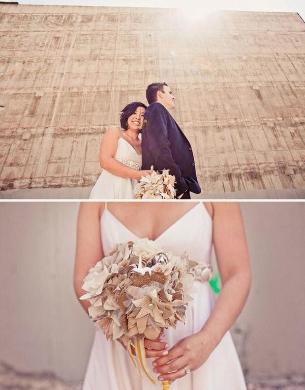 """Hoa cưới đẹp 1 màu """" ton sur ton"""" không hề đơn điệu11"""