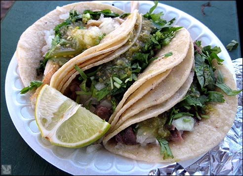 ... , let's briefly touch what I view as this area's primary taco types