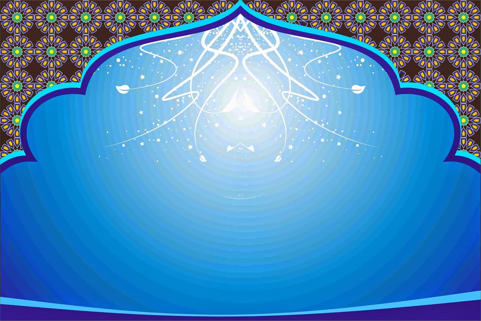 Corel Gunkid Download Desain Background Islami 2 File Cdr