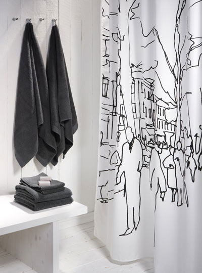 Candana: Shower curtains
