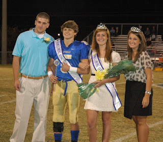 Montgomery Catholic Crowns 2011 Homecoming Queen & King 1