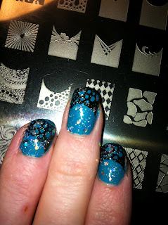 Stamping plate nailart