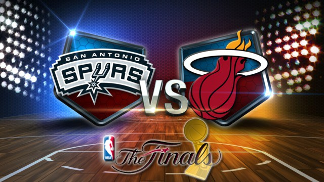 2013 NBA Finals: San Antonio Spurs vs Miami Heat