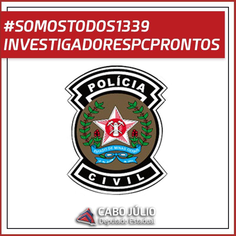 #SOMOS1339INVESTIGADORESPCPRONTOS