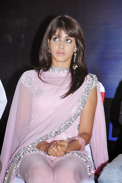 Genelia D'Souza In Pink Churidar
