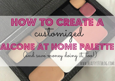 How to Create a Customized Alcone at Home Palette (and save money doing it, too!) #beauty #alconeathome #alcone #makeup #DIY #cosmetics