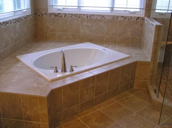 Diseno De Baños Sin Banera:de bañera que permite colocarla en una esquina de la estancia y de