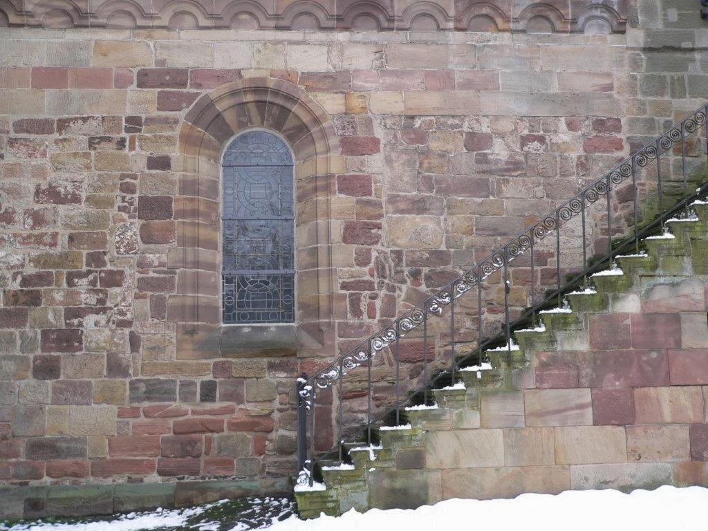 Kirche Treppe