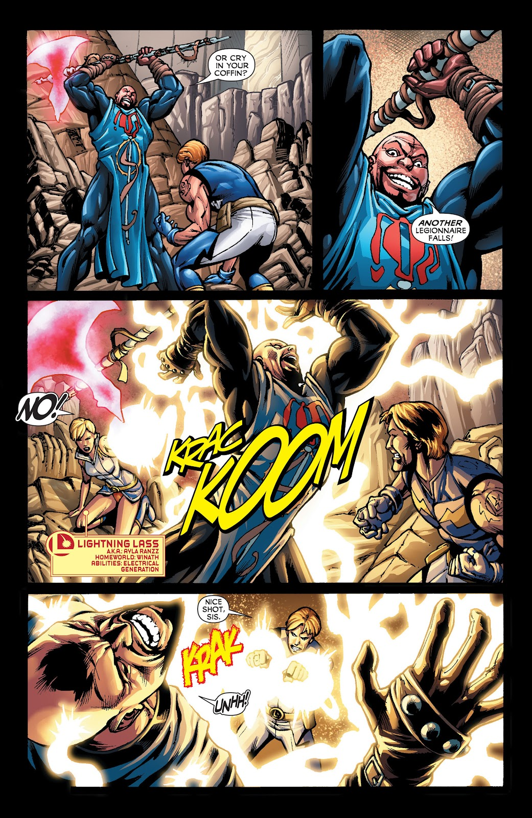 Legion of Super-Heroes (2011) Issue #22 #23 - English 6