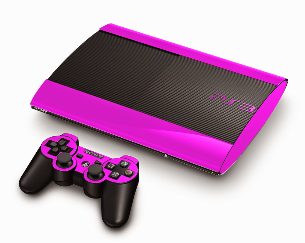 pink playstation 3