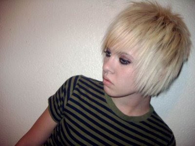 blonde emo hairstyles for boys picture  blonde emo