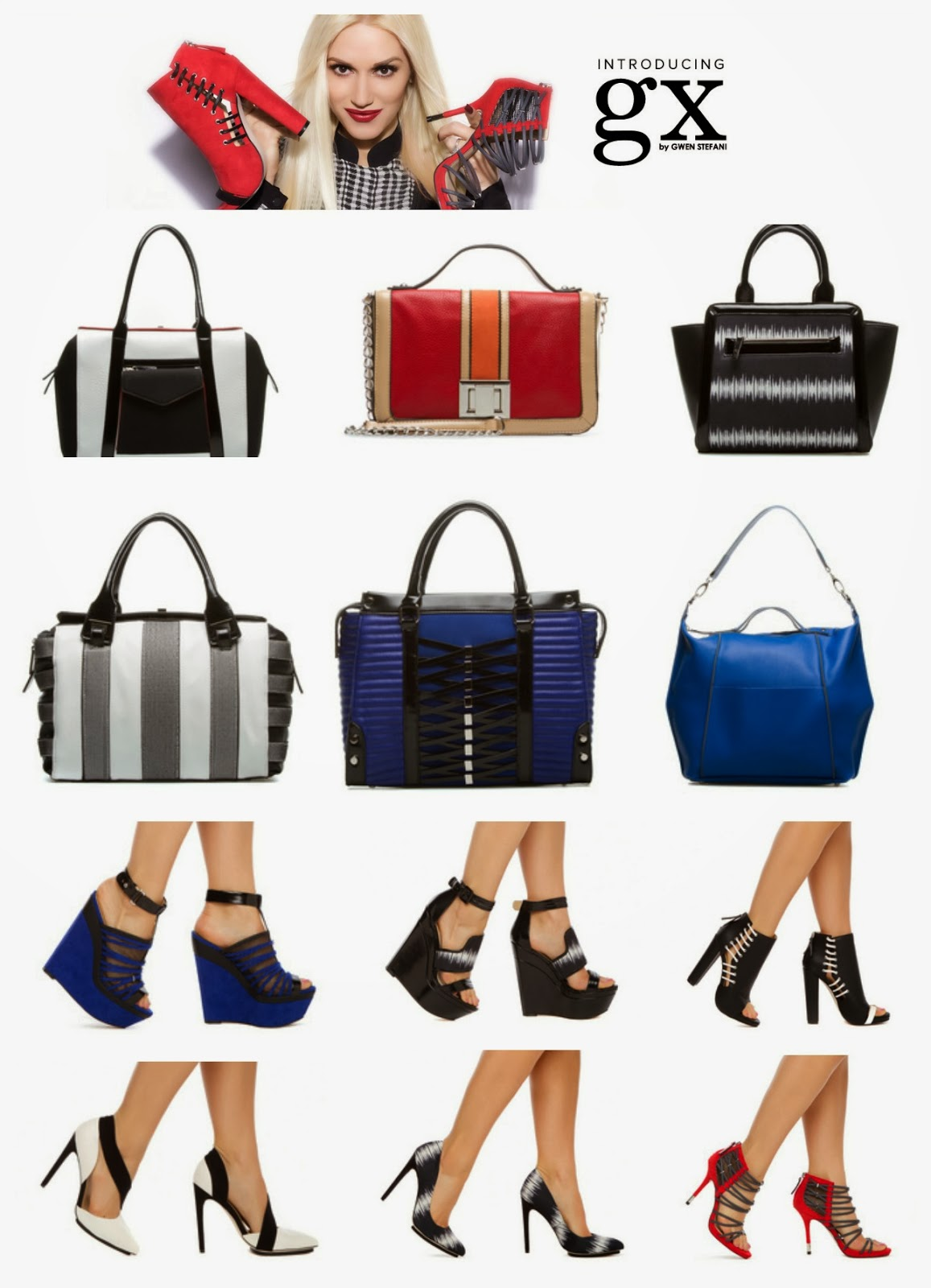 gwen stefani, shoes, purse, shoedazzle, fashion, gx