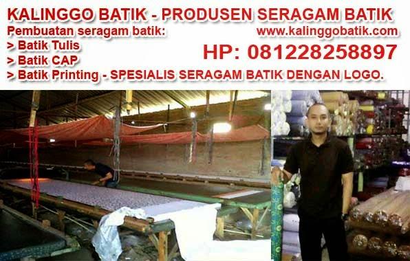kalinggo batik pembuatan seragam batik murah berkualitas solo