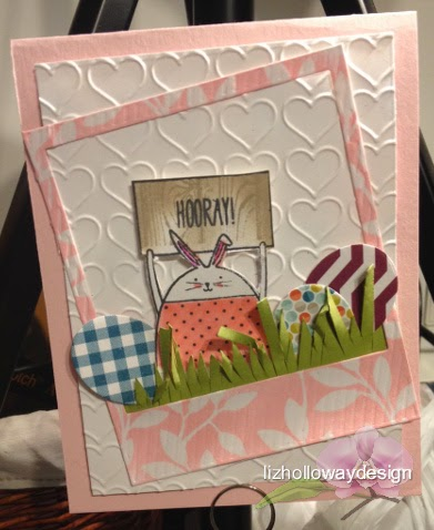 lizhollowaydesign: Card, Cheerful Critters, stampersplus, vancouver papercraft