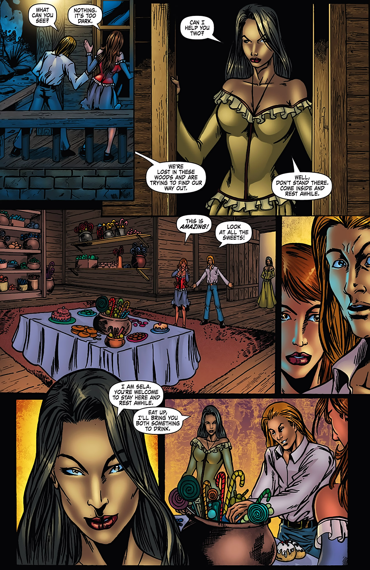 Grimm Fairy Tales (2005) Issue #3 #6 - English 15