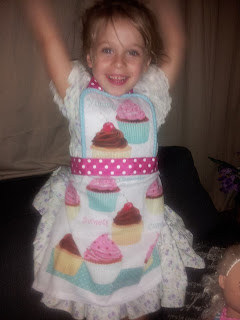 child sized apron childrens apron, baby apron, homemade,