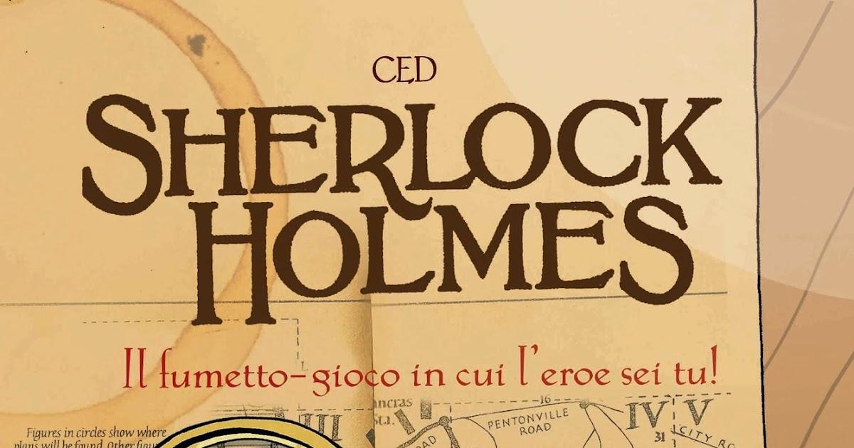 Sherlock holmes fumetto gioco recensione giochi sul nostro tavolo - Sherlock holmes gioco da tavolo ...