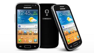 Ponsel samsung  Galaxy Ace 3  Layar 4 inci