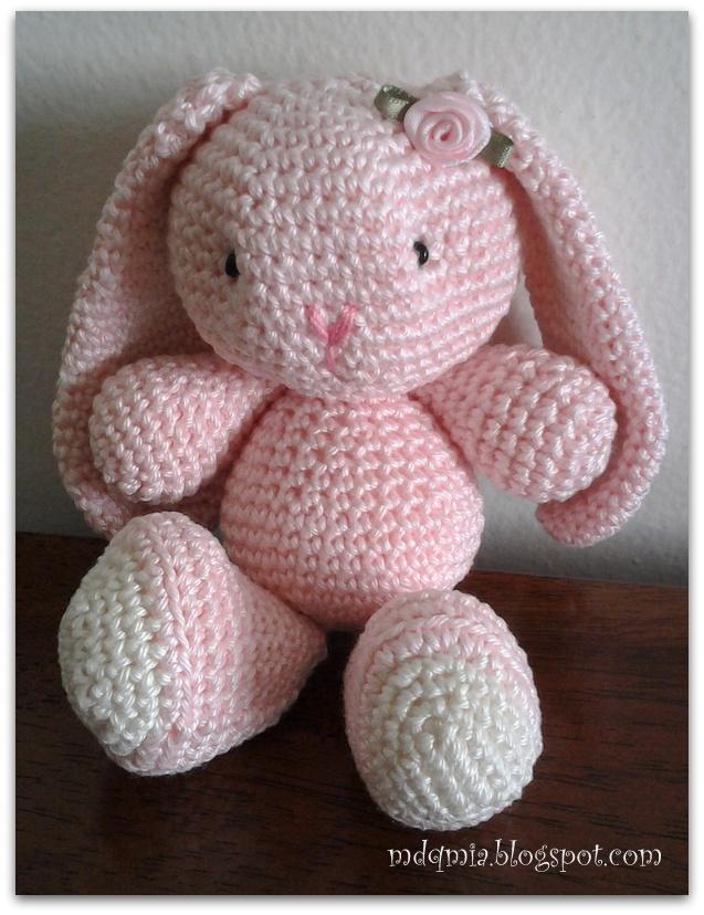 De aqu? y de alla ...: Amigurumi: Hoy conejo (Amigurumi Bunny)