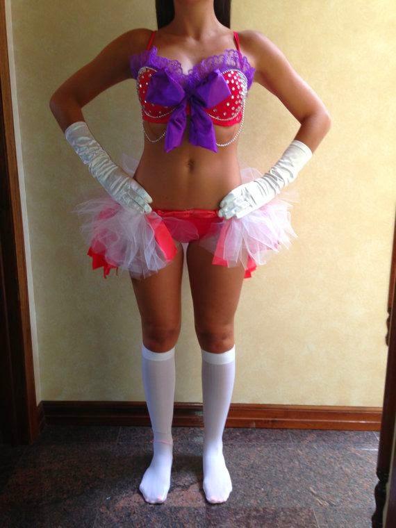 Sailor Mars Bra and costume