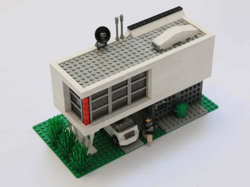 The Cottage Cheese Lego Architecture