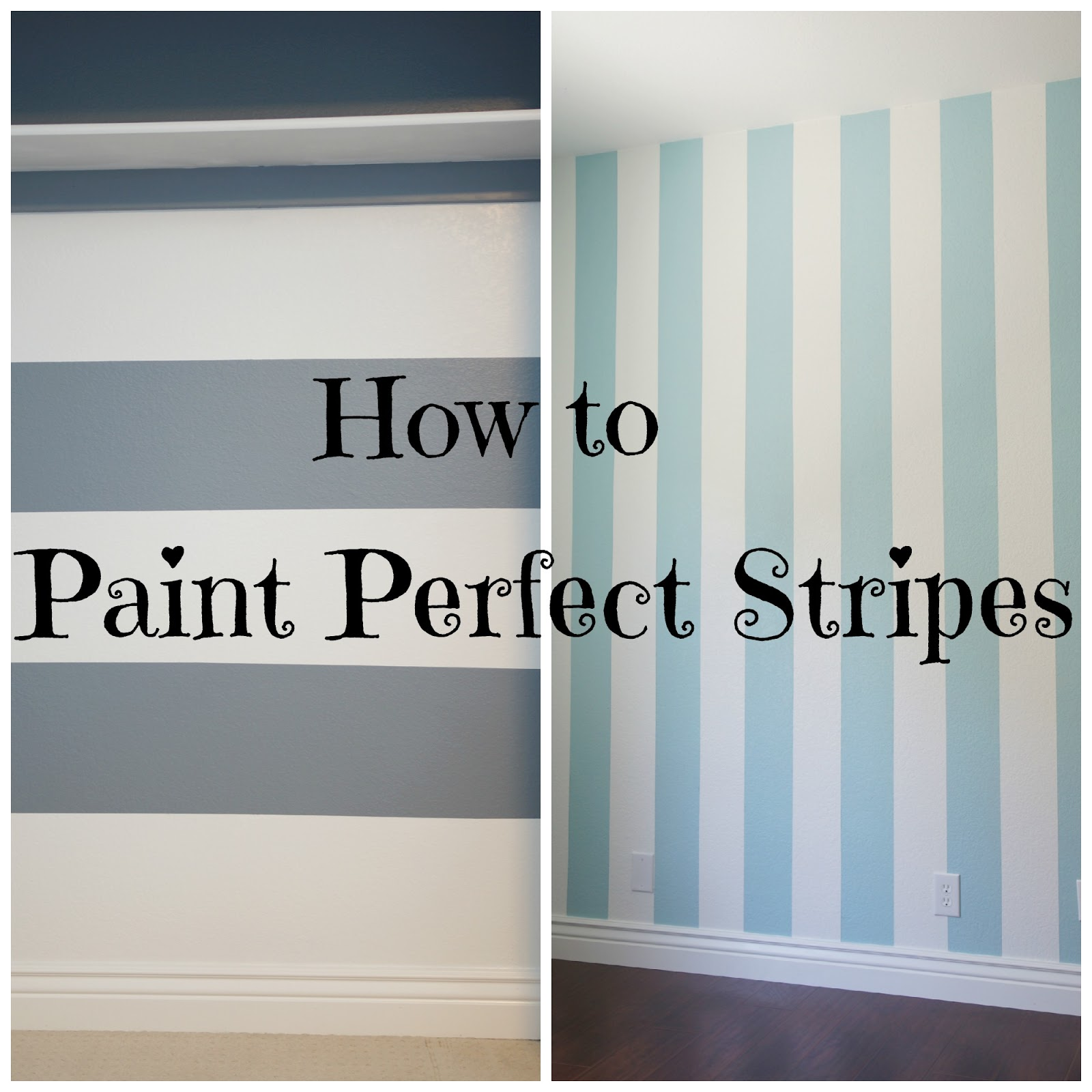 Lo ray me how to paint perfect stripes for Perfect paint