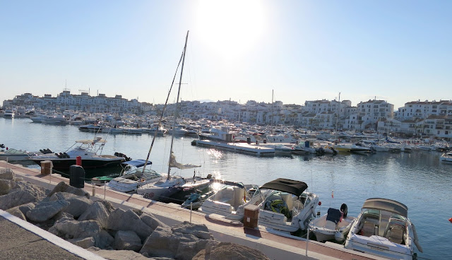 Marbella Spain Summer Holiday Puerto Banus Port Marina Boats Sea Sun
