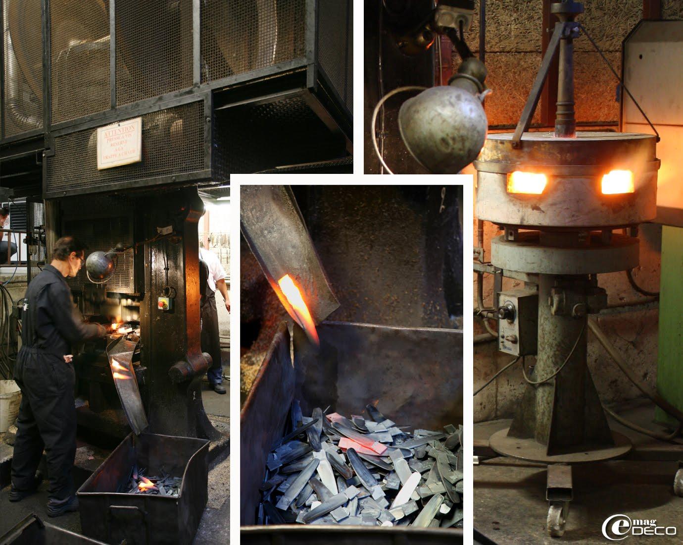 La forge de la coutellerie Forge de Laguiole