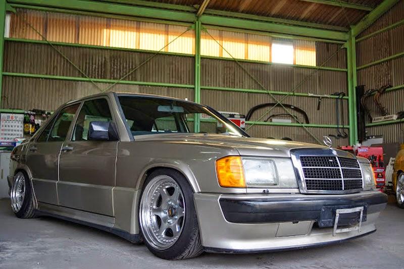 Mercedes benz w201 190e on epsilon wheels benztuning for Mercedes benz 190e rims