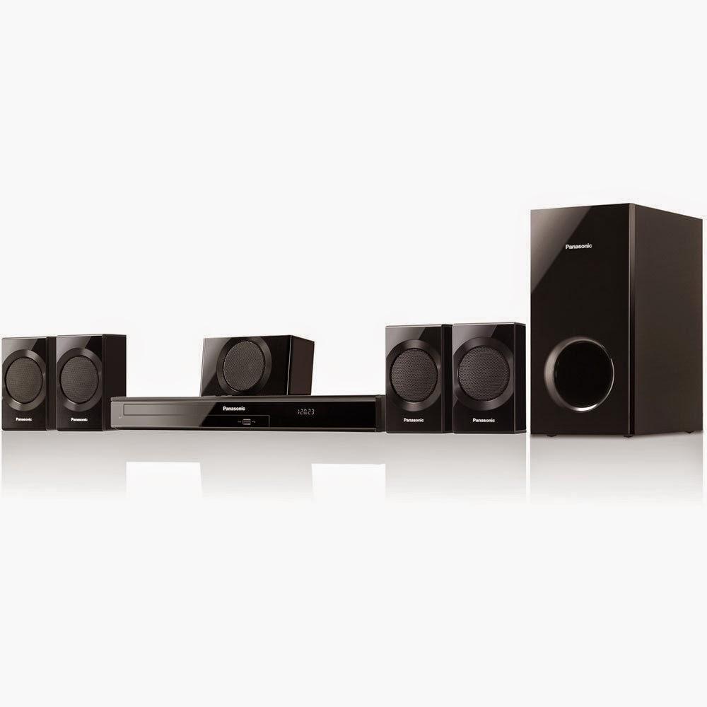 Panasonic SC-XH170 Energy Star 5.1-Channel 1000-Watt DVD Home Theater System