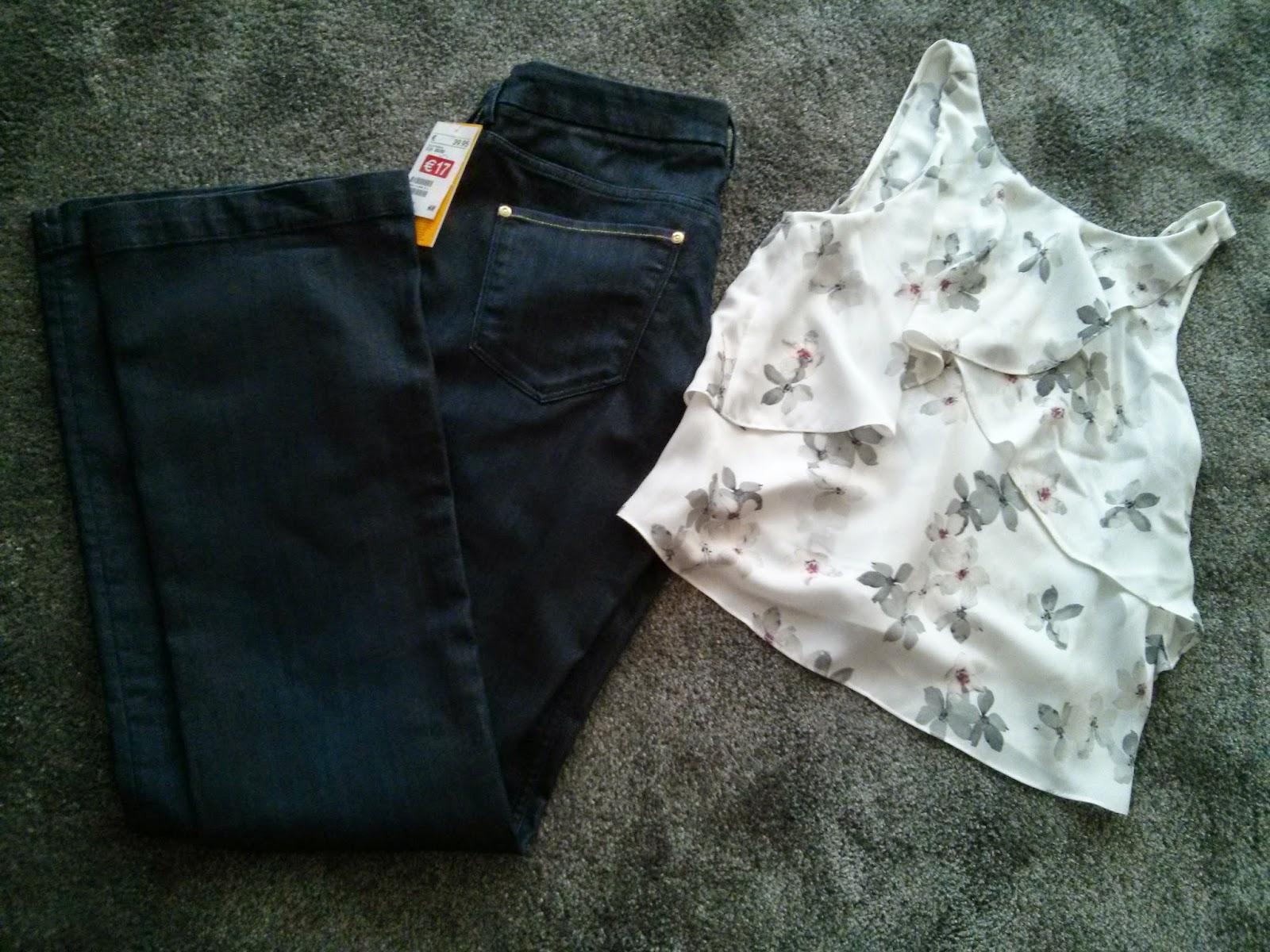 VipandSmart jeans+top romántico