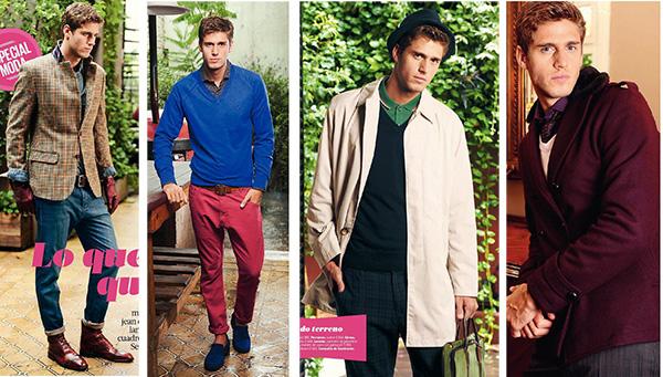 Moda masculina invierno 2012