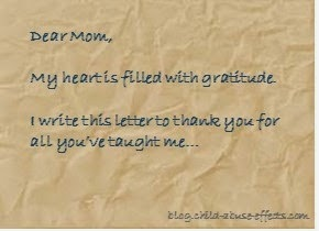 A Letter of Gratitude to My Mother