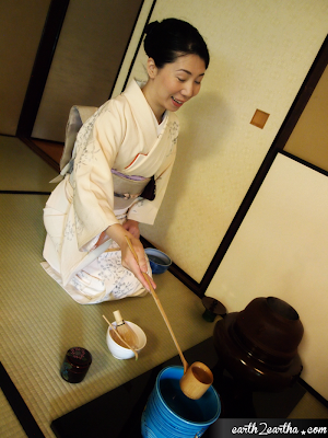 My Teishu at Japanese Tea Ceremony