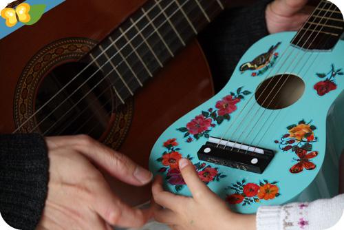 Guitare Vilac de Nathalie Lété