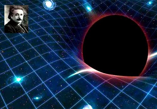 uzay zaman karadelik einstein
