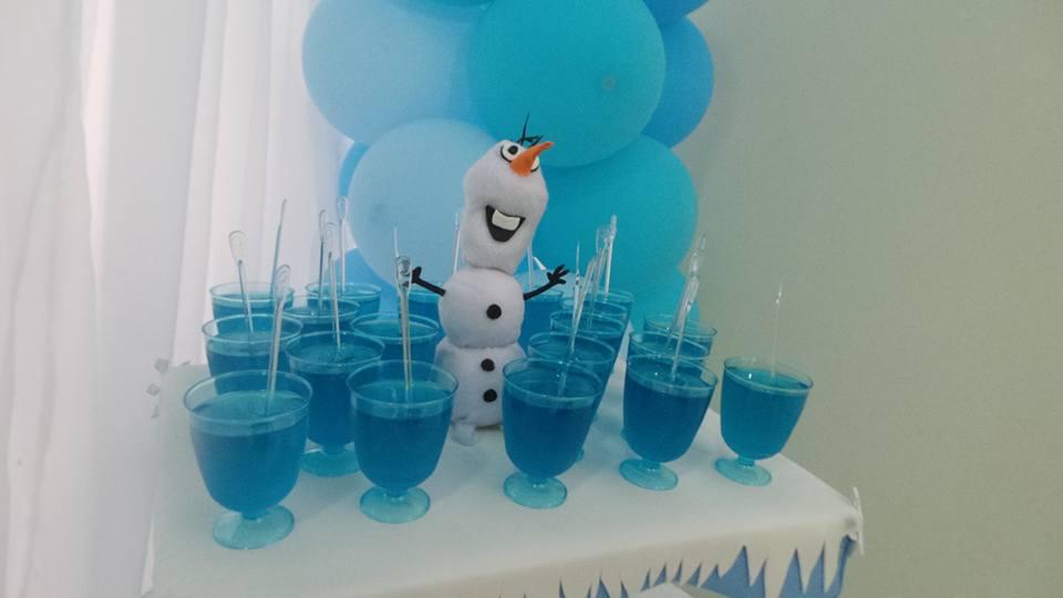 Detalhes Festa Frozen