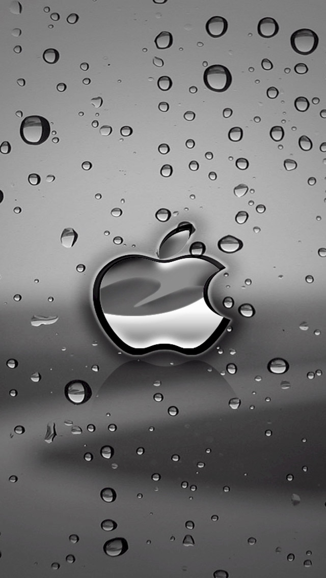 Apple Logo Free HD iPhone Wallpaper