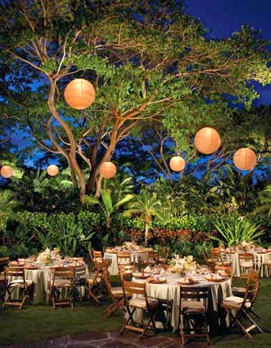 Outdoor Night Wedding Decorations Las Vegas pictures