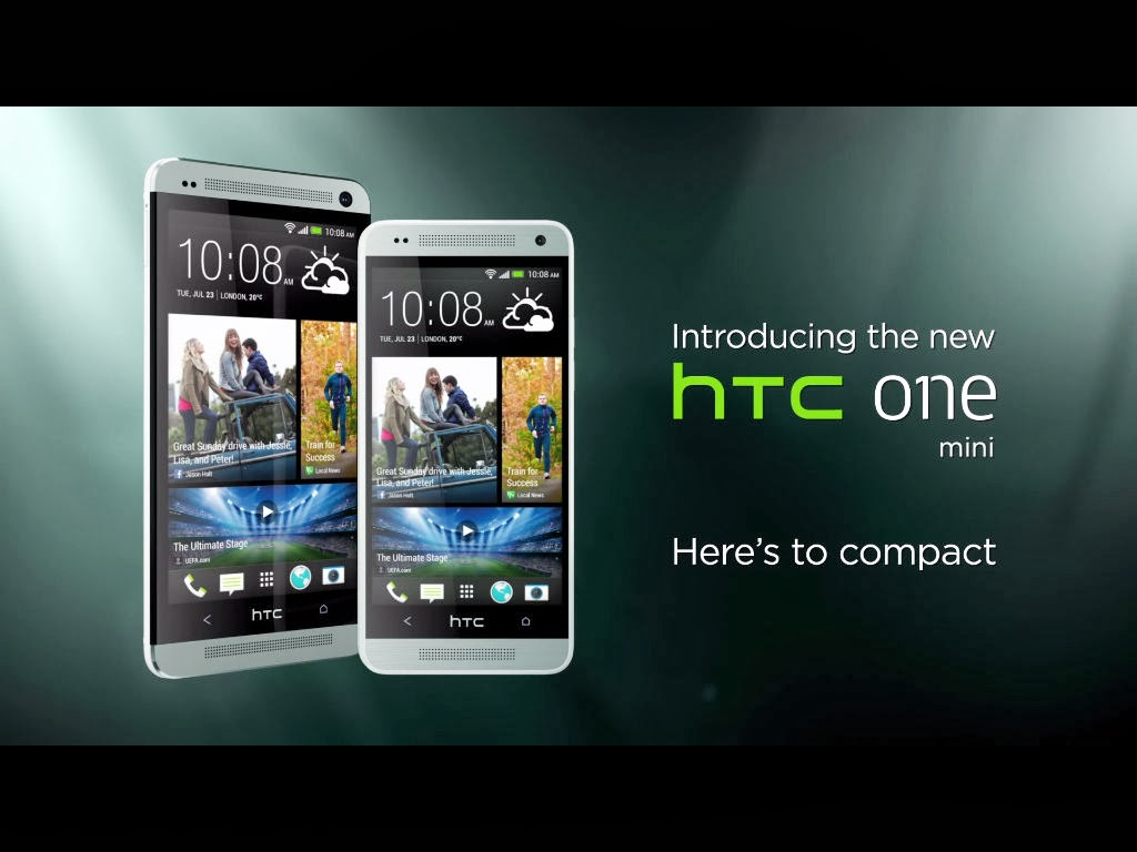 The HTC One Mini is now available