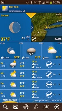 WeatherPro android apk - Screenshoot