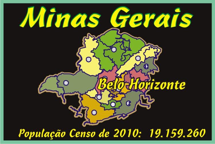 Minas Gerais 853 Municipios