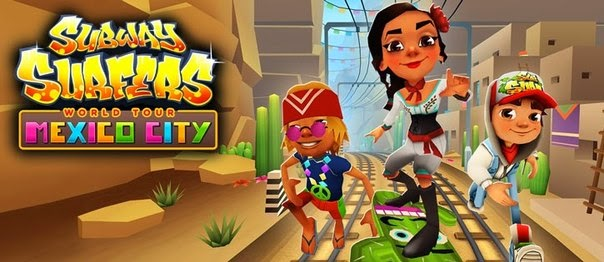 Subway Surfer V.1.21 MEXICO Mod ( Unlimited Coin )