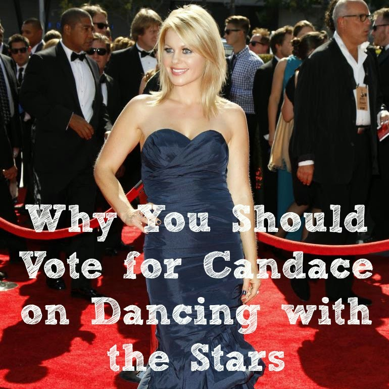 Candace Cameron Bure on DWTS  {Reading List} Cozy Reading Spot Feature