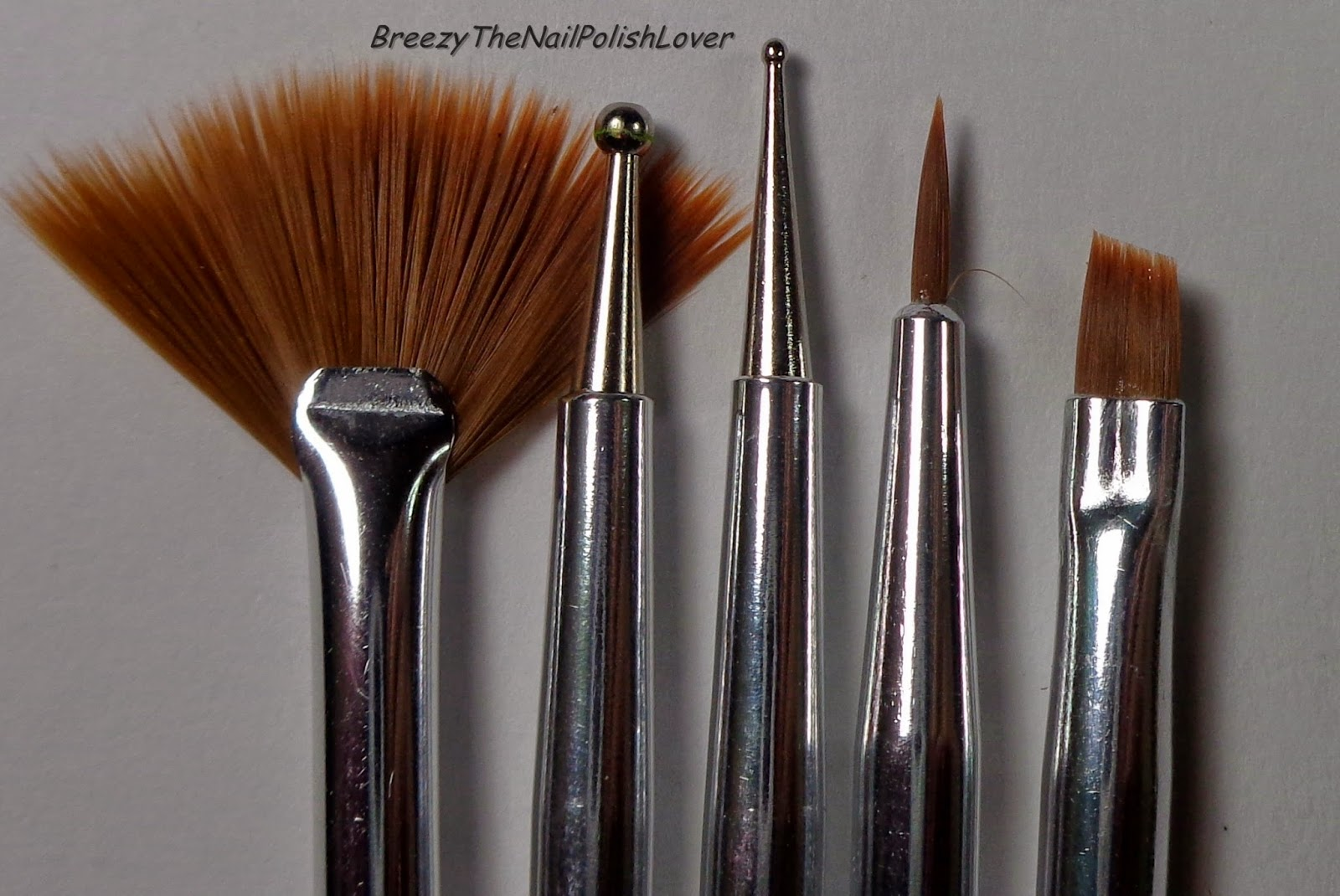 BreezyTheNailPolishLover: Fing\'rs Heart 2 Art Nail Art Tools Review