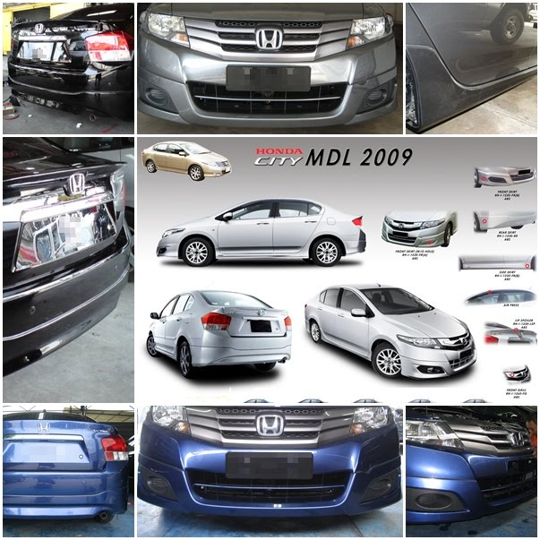 HONDA CITY MODULO Bodykit Set + Spoiler RM1800(now RM1500 Only)
