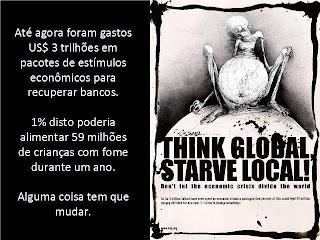 globalização fome