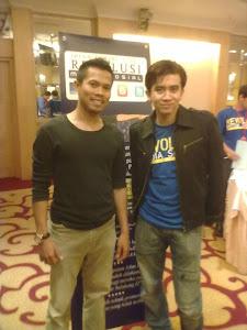 Saya dan Sifu Irfan Khairi