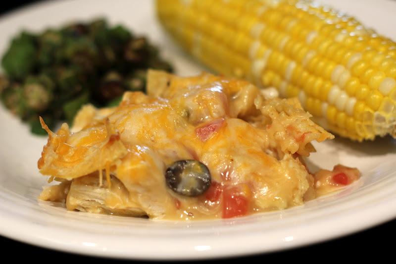 embellishments: Chicken Tortilla Casserole